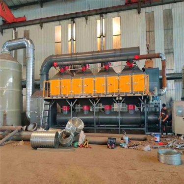 催化燃烧设备的工艺流程